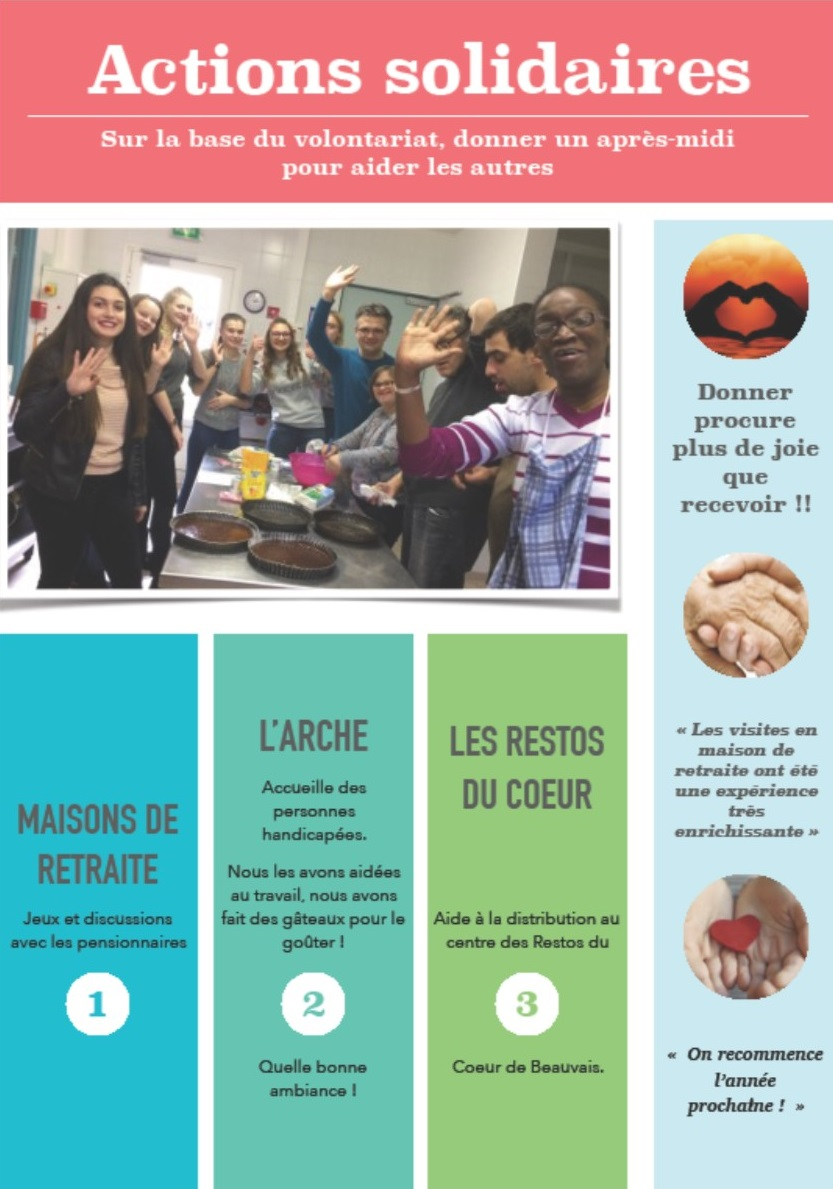 ACTION SOLIDAIRES 2017 2018