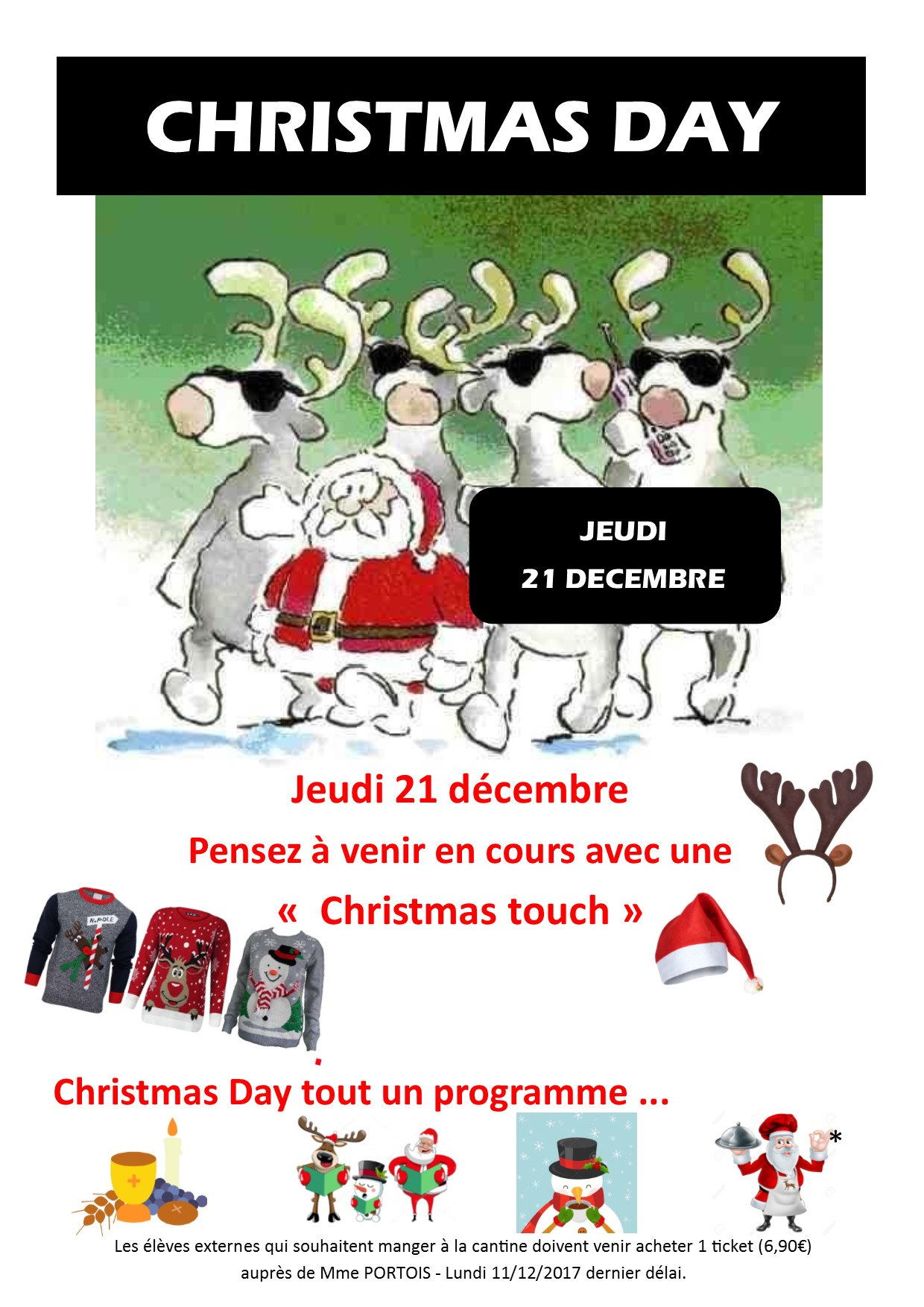 CHRISTMAS DAY 1ERE EDITION 21 DECEMBRE 2017